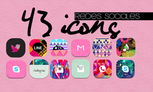 Icons Redes Sociales