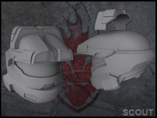 Halo Reach Scout by ForgedReclaimer on DeviantArt