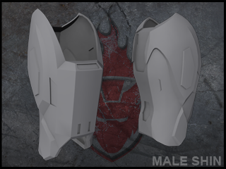 Halo Reach Male shin file by ForgedReclaimer