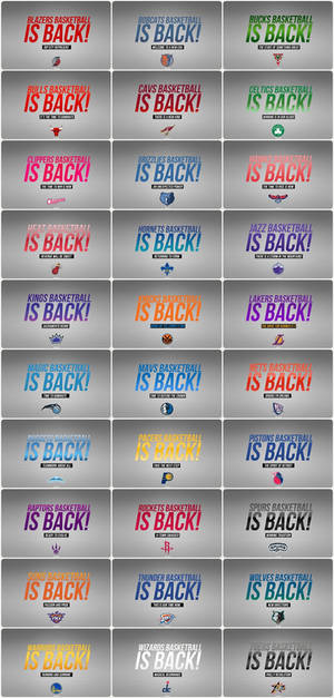 Basketball is Back Wallpapers