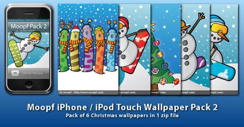 Moopf iPhone Wallpaper Pack 2 by moopf