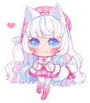 Kitty pink by Viclesu