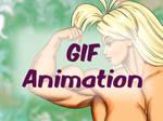Tetsuko Bicep Bounce - GIF animation