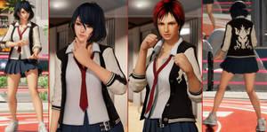 DOA6 Mod: Ryuko Street Wear Outfit for Tamaki+Mila