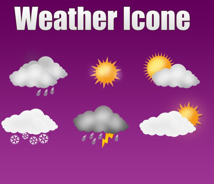 Weather Icones by webodream