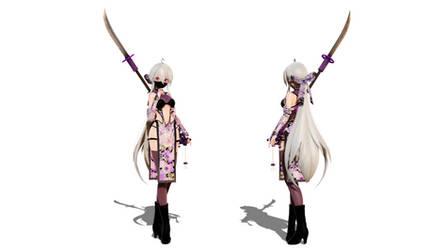 Model DL - TDA Momiji Ninja Haku by elina002