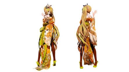 Model DL - TDA Geisha Neru by elina002