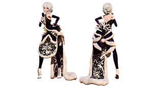 Model DL - TDA Winter China Dress Haku