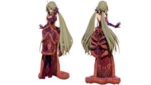 Model DL - TDA Winter China Dress Ia