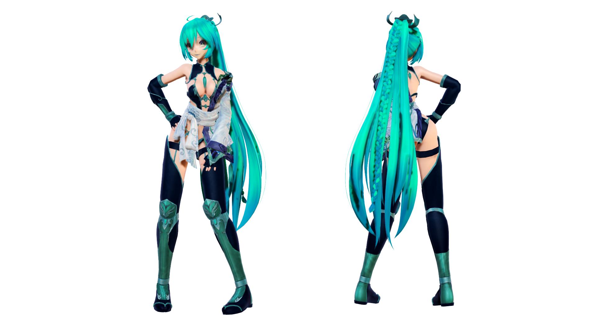 Model DL - TDA Battlesuit Miku by elina002 by elina002