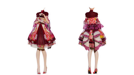 DL Down - TDA Spring China Lolita Base by elina002