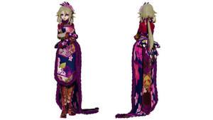 Model DL - TDA Winter Chinese Dress Ia
