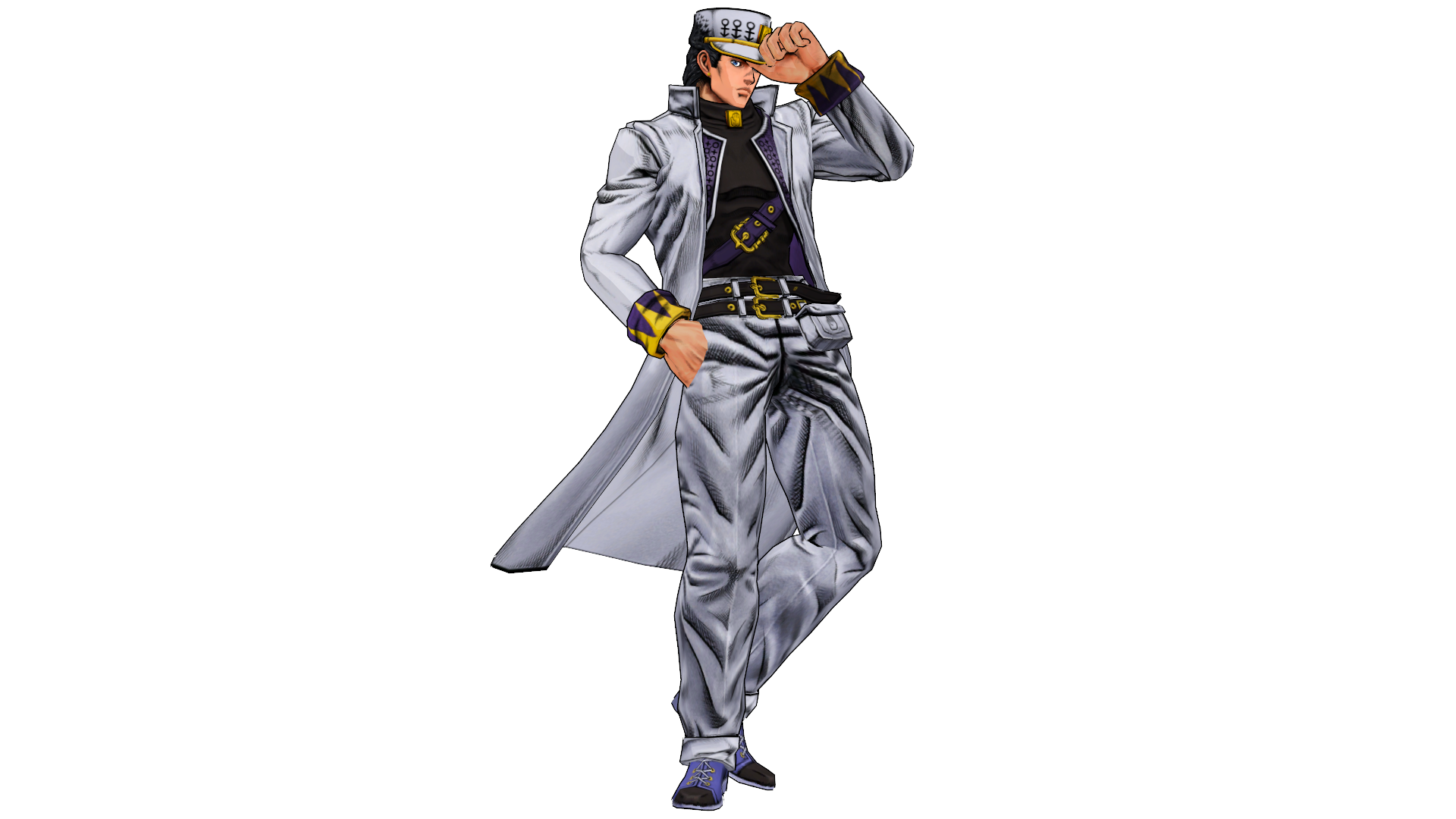 Model Dl Kujo Jotaro Part 4 By Elina002 On Deviantart