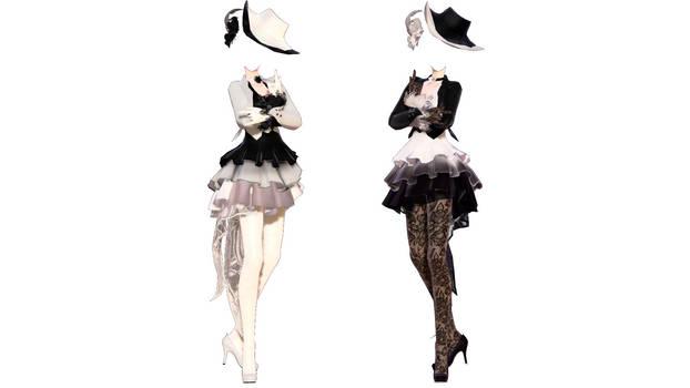 Model DL - TDA The Graceful Dress base