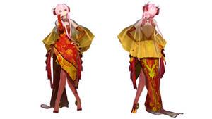 Model DL - TDA Silk Butterfly Luka