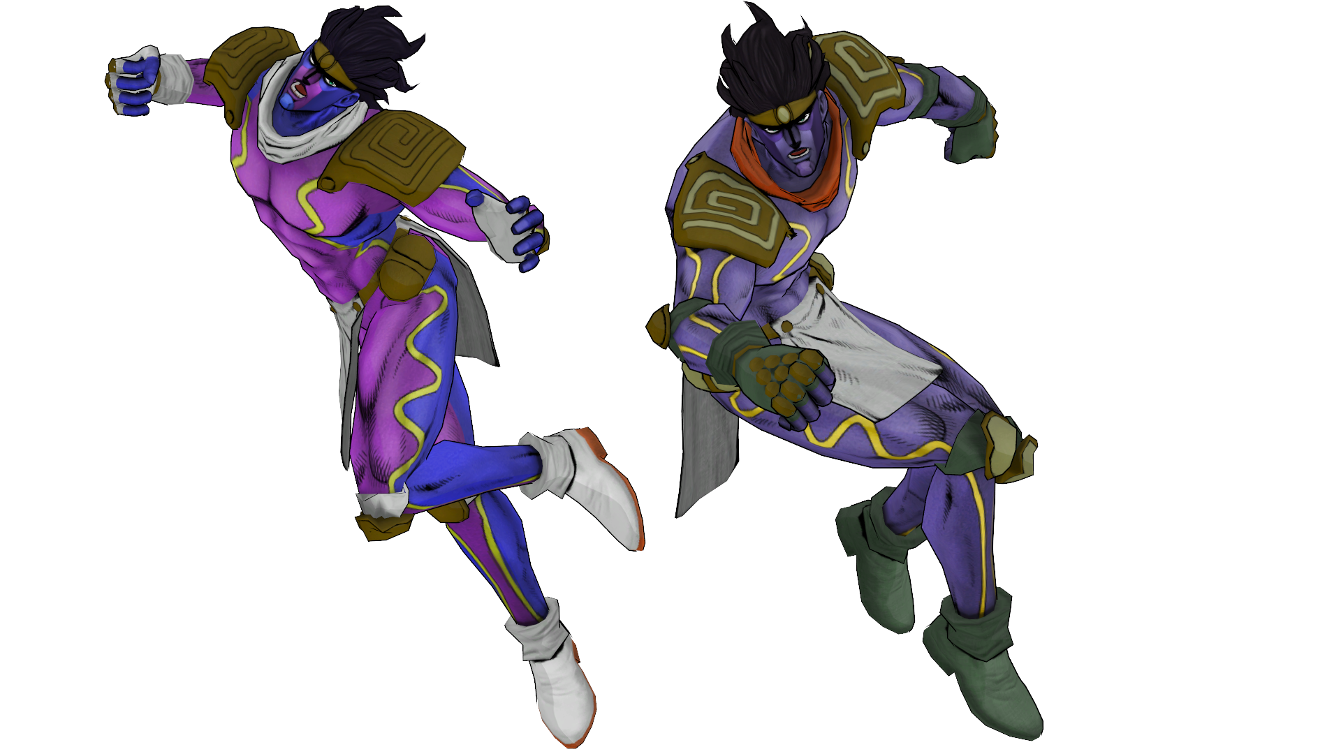 Model Dl Star Platinum By Elina002 On Deviantart