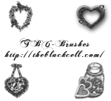 Heart PSP Brushes by ai-forte