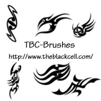 Photoshop Brushes - Tribal by ai-forte