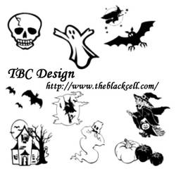 Halloween Photoshop Brushes by ai-forte