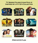 TV Series Folder Icons - Pack 4