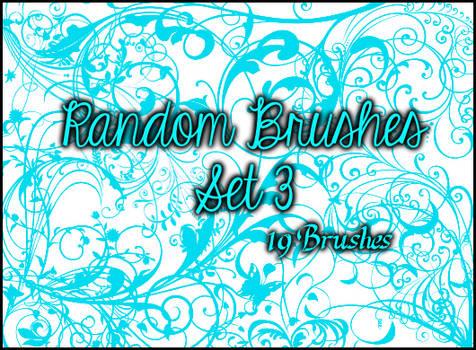 Random Brushes Set 3 by Illyera