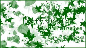 GIMP Leafy Designs