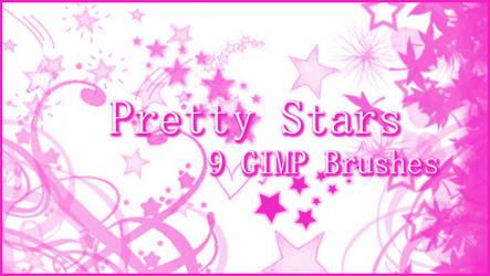 GIMP Pretty Stars by Illyera