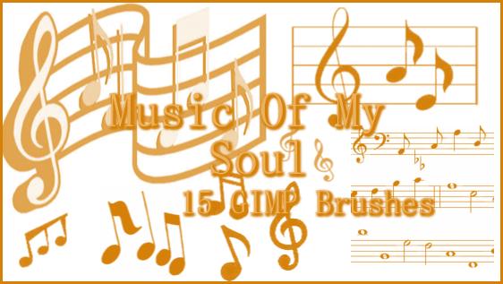 GIMP Music of My Soul by Illyera