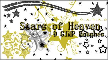 GIMP Stars of Heaven by Illyera