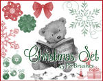 PS Christmas Brushes