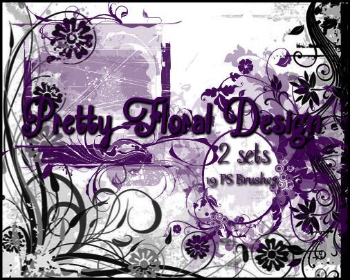 PS Pretty Floral Design by Illyera