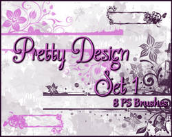 PS Pretty Floral Design Set1 by Illyera