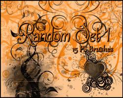 PS Random Brushes Set1 by Illyera