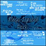 Mega Lyrical Brushes