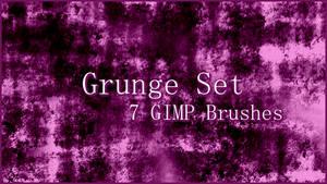 GIMP Grunge Brushes Set 1
