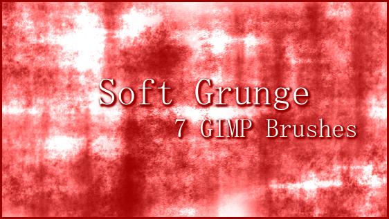 GIMP Grunge Brushes Set 2