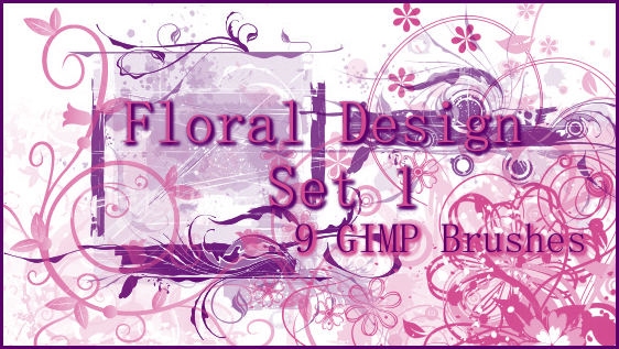 GIMP Floral Design 1