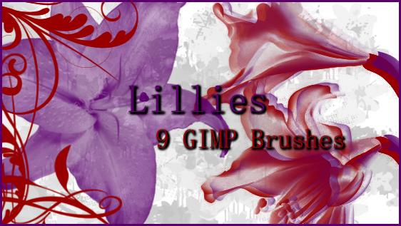 GIMP Lillies