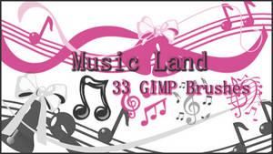 GIMP Music Land