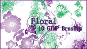 GIMP Floral Brushes
