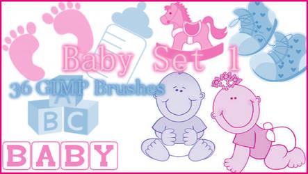 GIMP Baby Set1 by Illyera