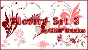 GIMP Flowery Set3