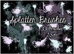 Splatter Brushes Set 1-2