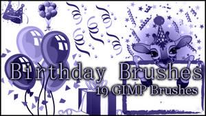 GIMP Birthday