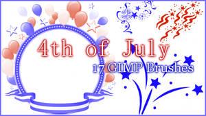 GIMP 4th of July