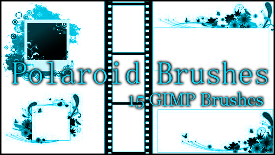 GIMP Polaroid Brushes by Illyera