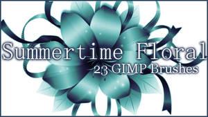 GIMP Summer Time Floral