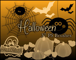 PS Halloween Brushes