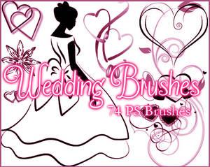 PS Wedding Brushes