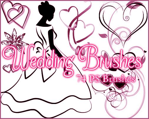 PS Wedding Brushes by Illyera